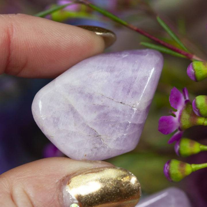 Large Tumbled Kunzite