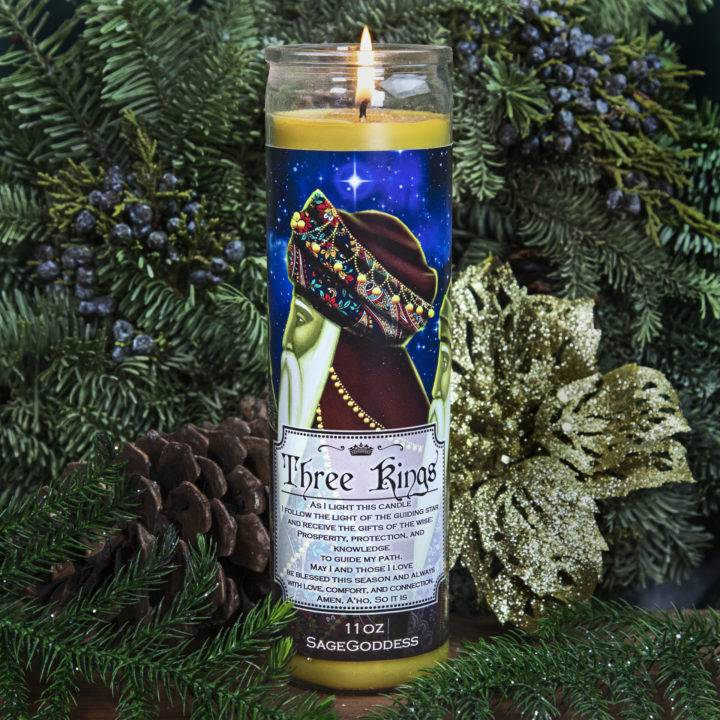 Three Kings Intention Candle