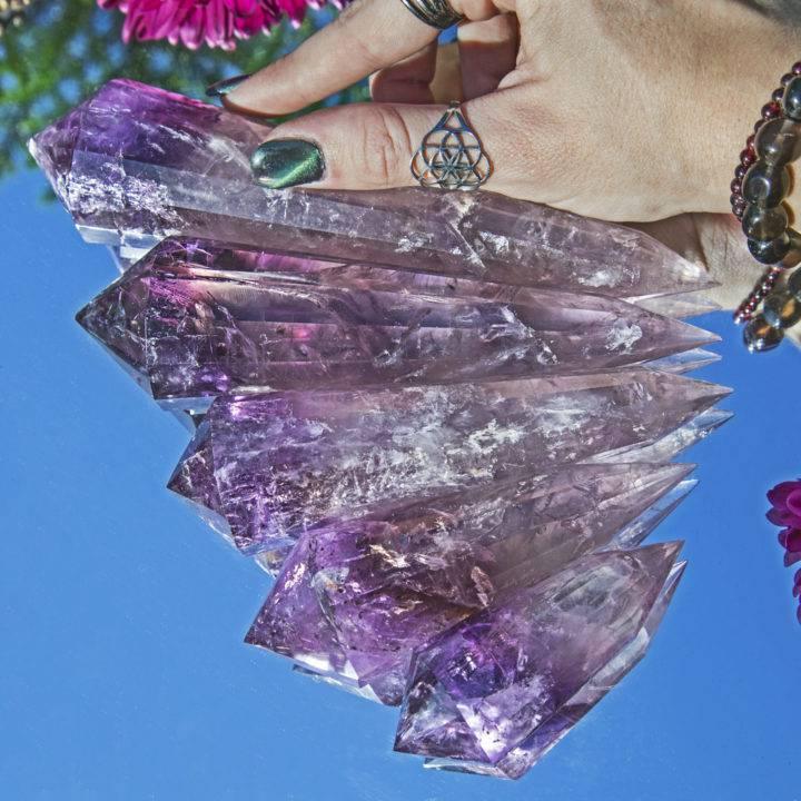Violet Ray Healing Amethyst Vogel
