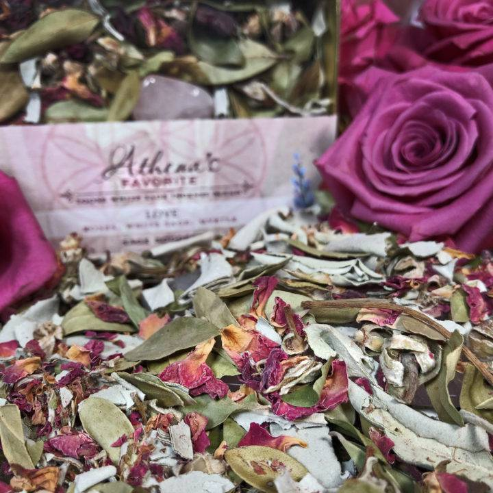 Athena's Favorite Love Incense Blend