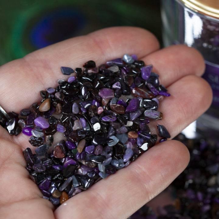 Crystal Sprinkles: Tumbled Sugilite Chip Stones