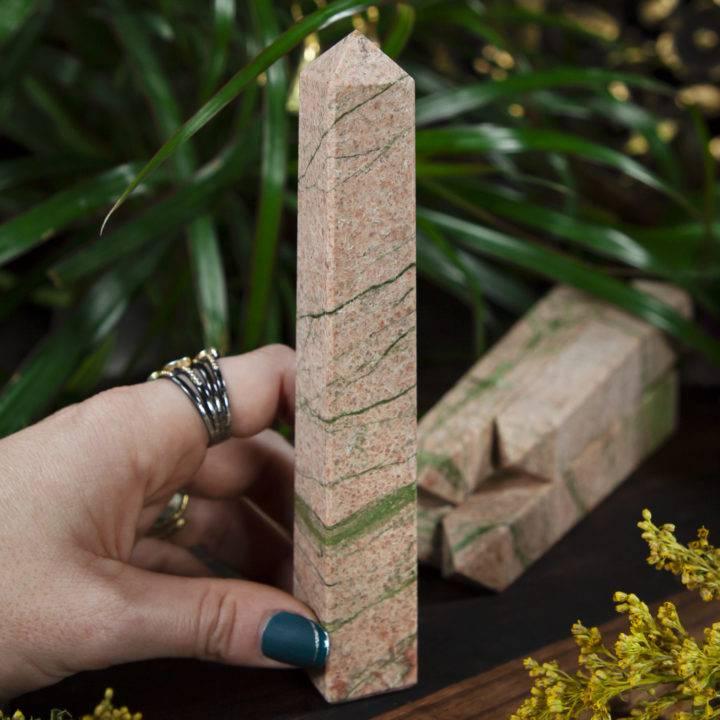 Egyptian Healing Power Pillar