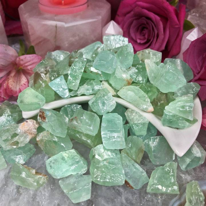 Green Calcite: Small Natural