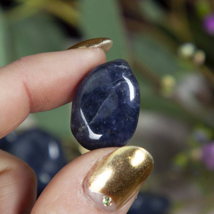 Iolite: Small Tumbled
