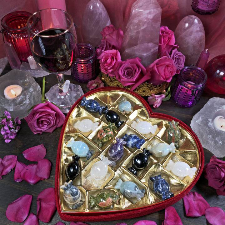 Intuitively Chosen Gemstone Candy