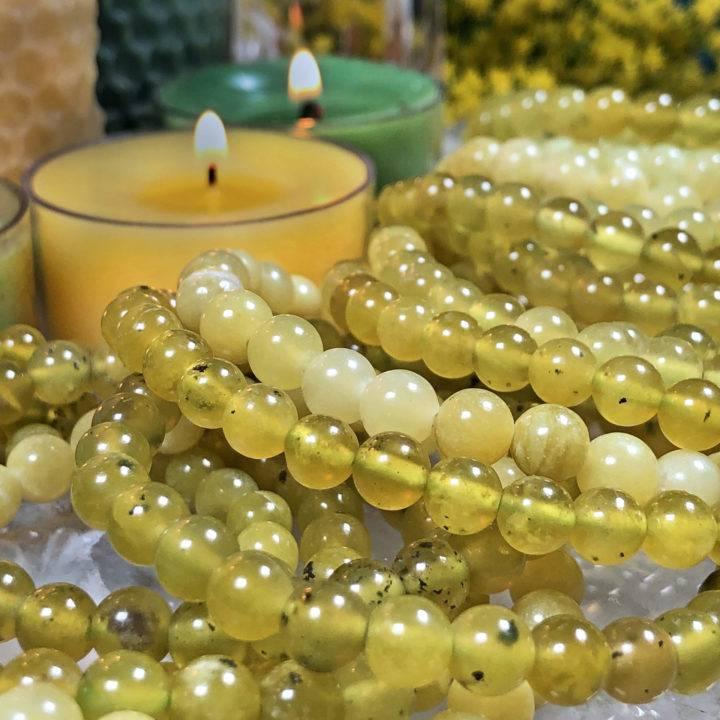 Lemon Serpentine Emotional Balance Bracelet