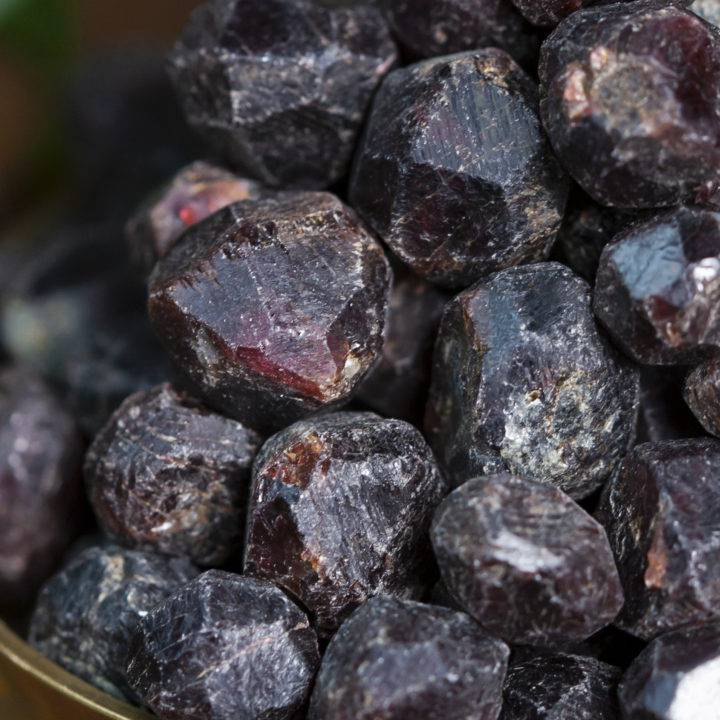 Natural Mini Almandine Garnet