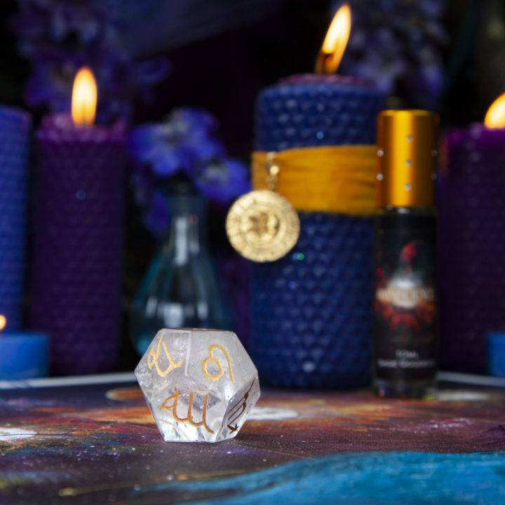New Moon Divination Magic: Astrology Dice Set