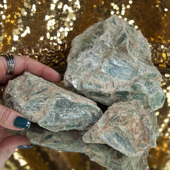 Natural Green Kyanite