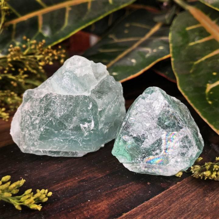 Natural Green Fluorite