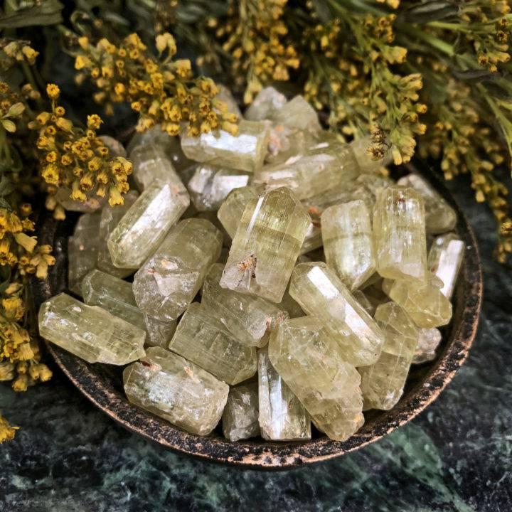 Natural Yellow Apatite