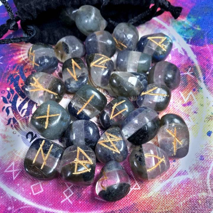 New Moon Divination Magic: Rune Set