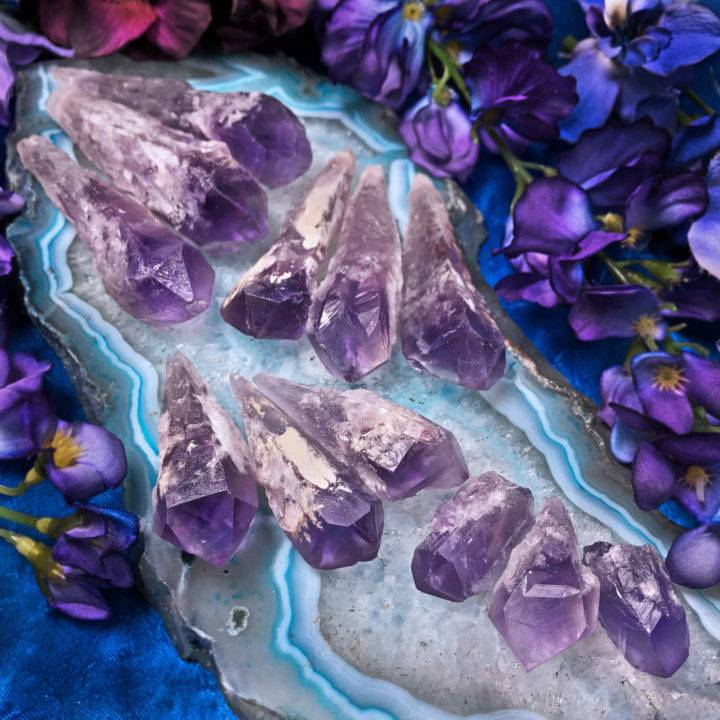 Phantom Amethyst Root Crystal