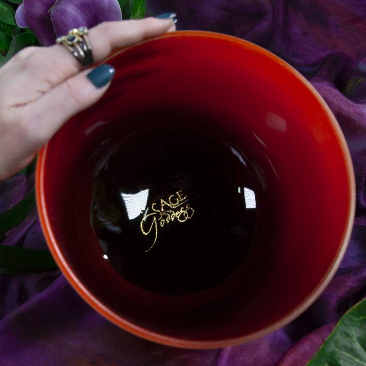 Root Ombre Crystal Singing Bowl