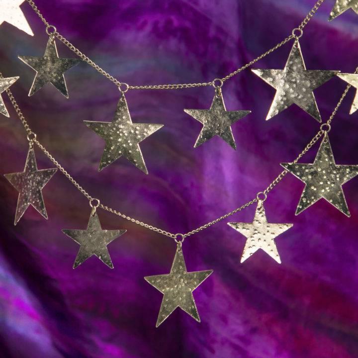 Tin Star Garland