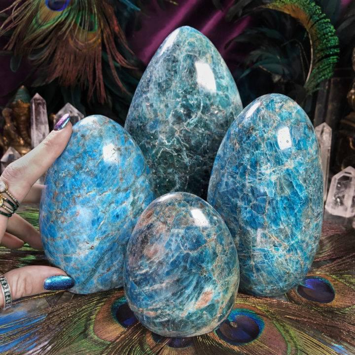 The Guidance Stone Blue Apatite Pillar
