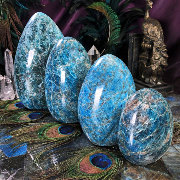 The Guidance Stone Blue Apatite Pillar