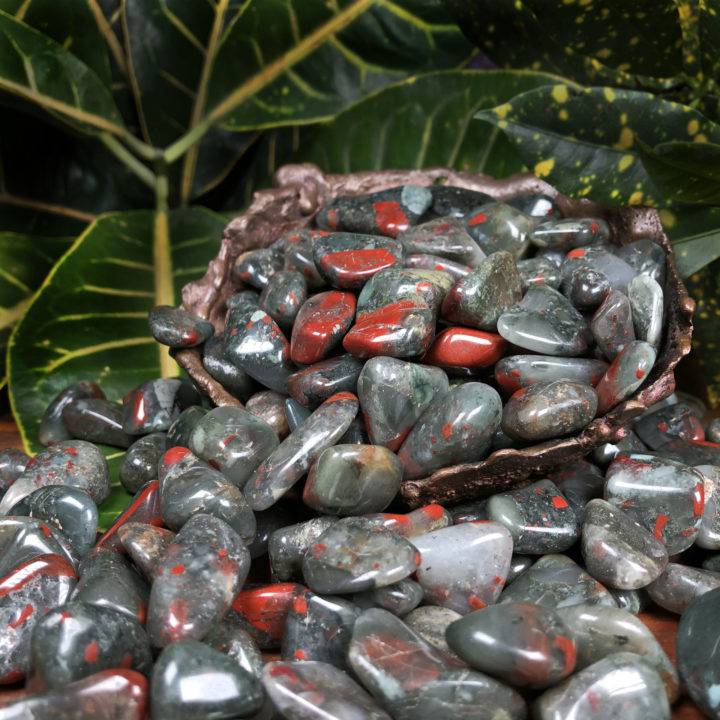 Tumbled African Bloodstone