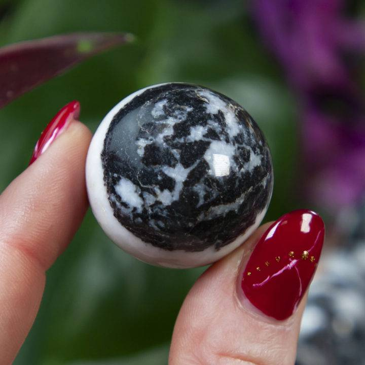 Zebra Jasper Authenticity and Manifestation Sphere