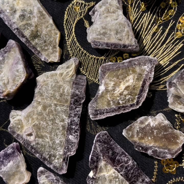 Bi-Color Lepidolite