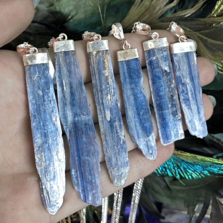 Blue Kyanite Balance and Alignment Pendant