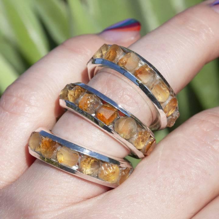 Citrine Money Magic Ring