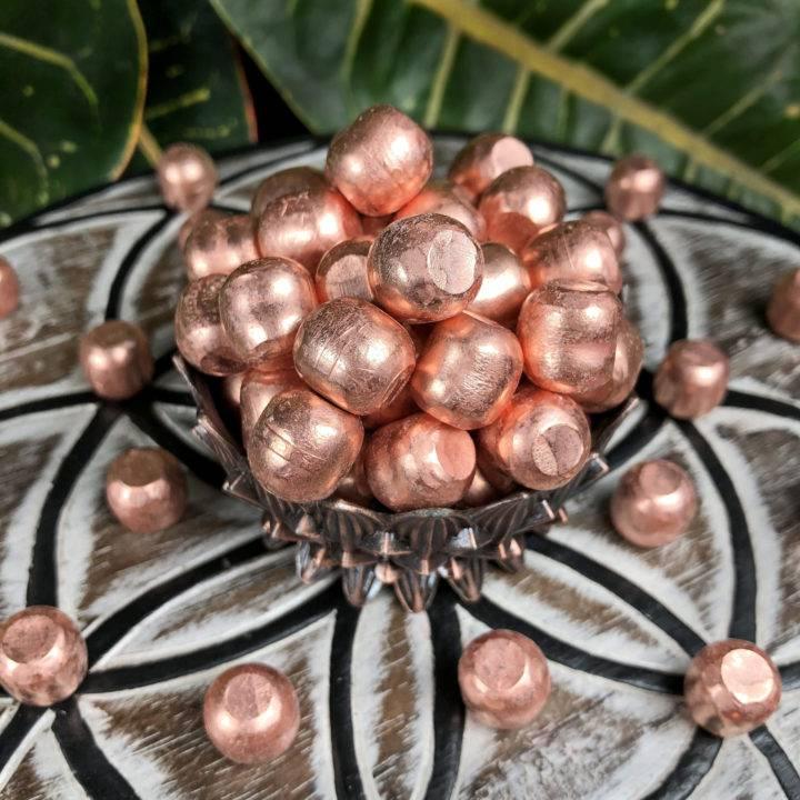 Copper Mudra Meditation Ball