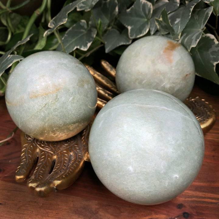 Green Aventurine Personal Growth Sphere