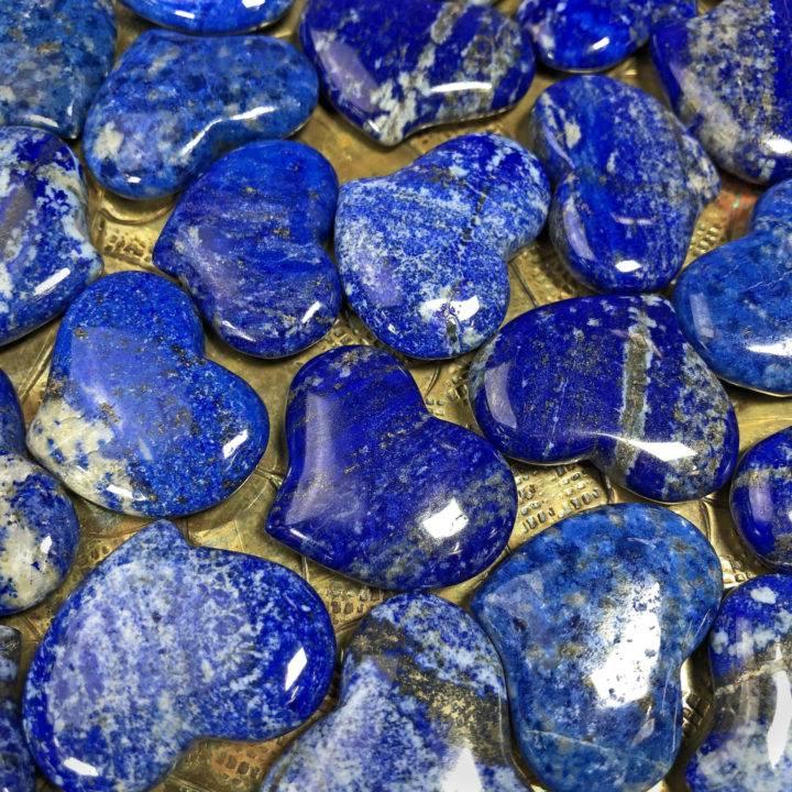 Lapis Lazuli Queen's Pocket Heart