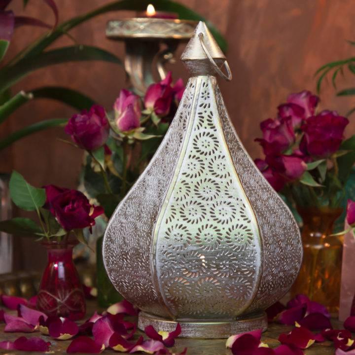 Moroccan Shadow Casting Lantern
