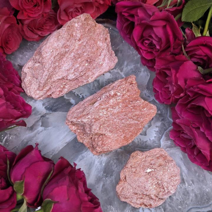 Natural Rose Muscovite