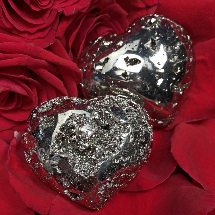 Pyrite Heart of Gold