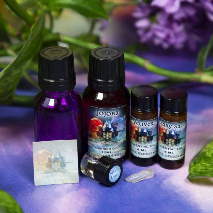 Soul Shift February Class Tools: Journey to Authenticity Perfume Blending Set