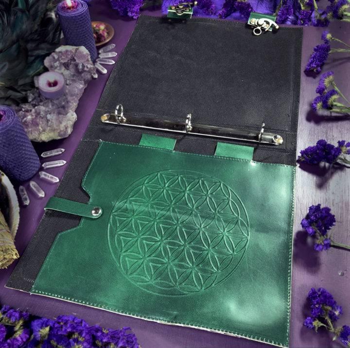 Soul Shift Alchemize Emerald Tablet Binder
