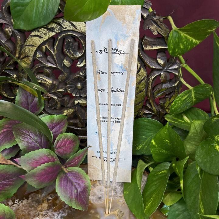 Vetiver Incense Sticks