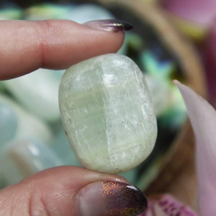 Tumbled Aqua Calcite