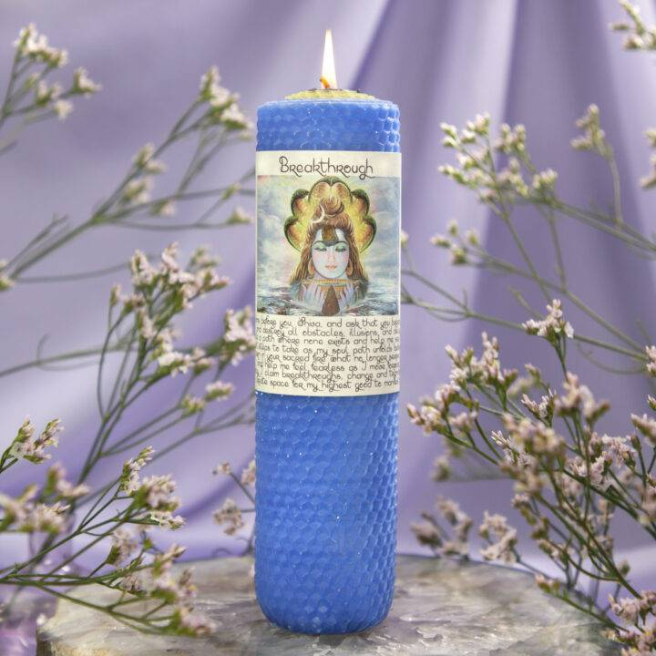 Breakthrough Beeswax Intention Candle