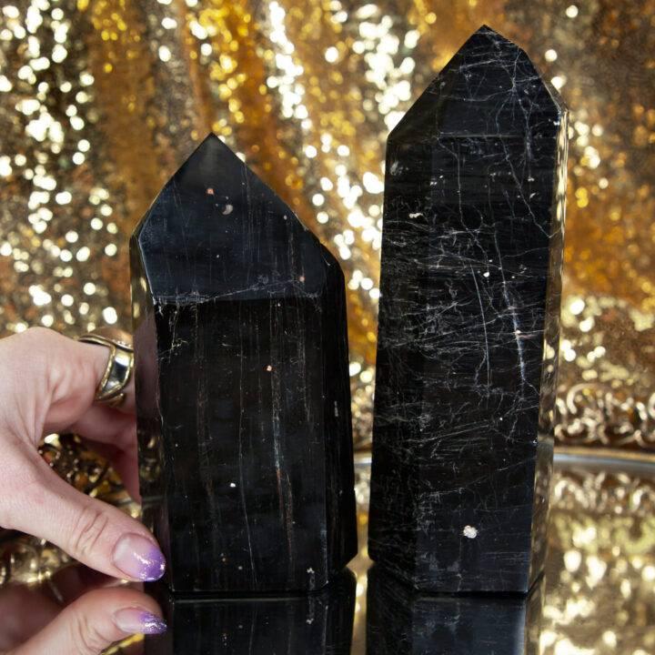 Black Tourmaline with Hematite Generator