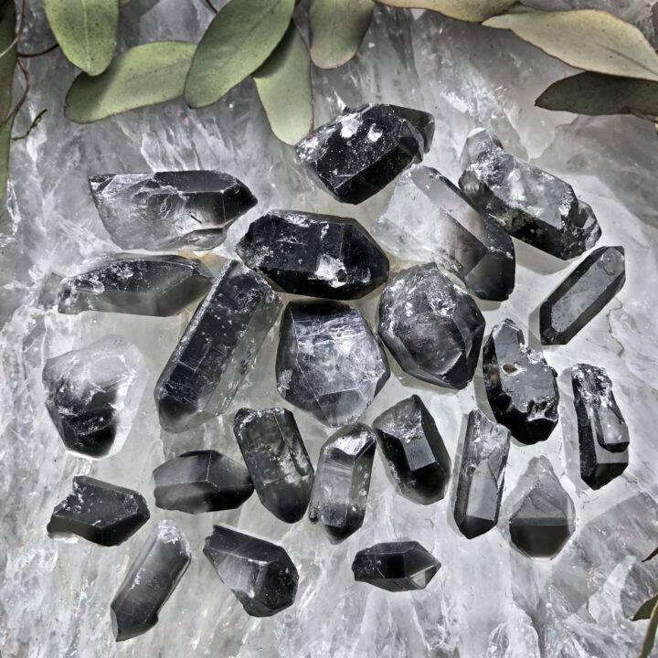 Black Phantom Quartz Transformation Point