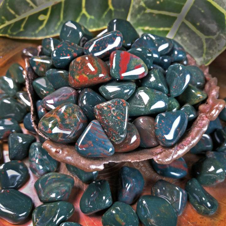 Bloodstone: Small Tumbled