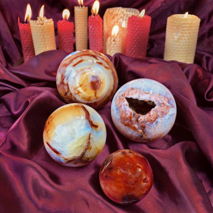 Carnelian Passion Sphere