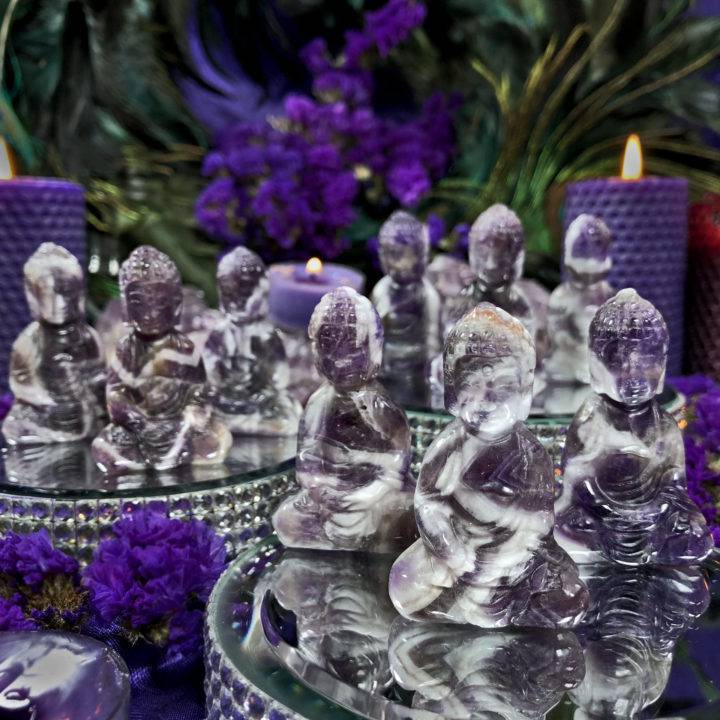 Dream Amethyst Higher Realm Protection Buddha