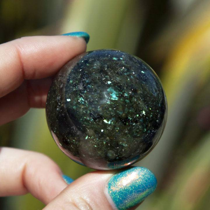 Galaxite Aura Protection and Transformation Sphere