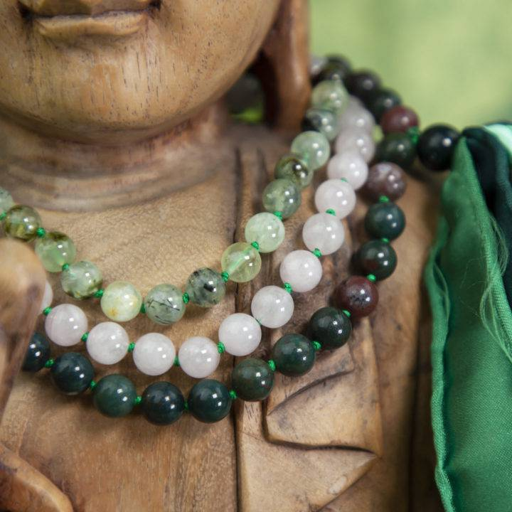Gentle Healing, Love, and Protection Mala