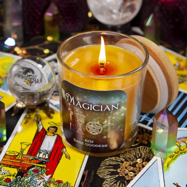 Magician Intention Candle