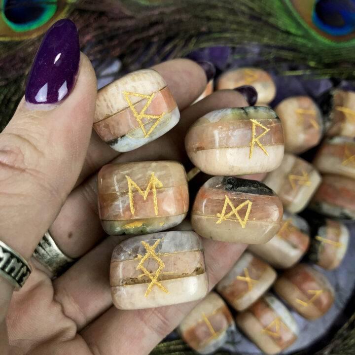 Magical Moon Rune Set