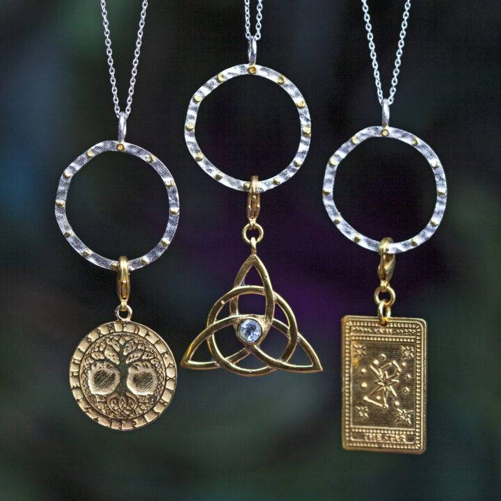 Moon Phase Magic Charm Necklace