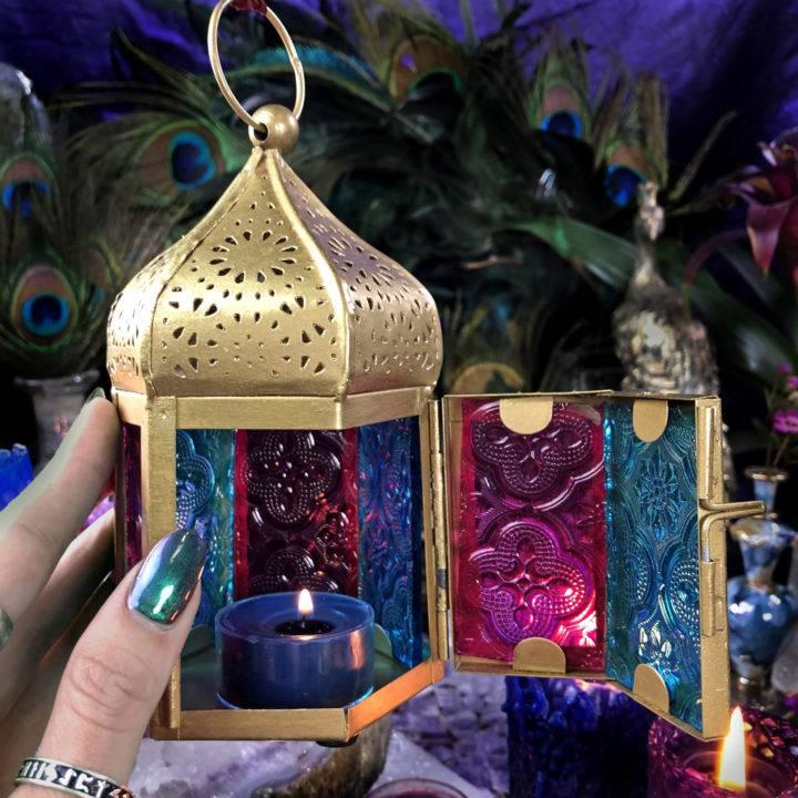 Moroccan Tea Light Lantern