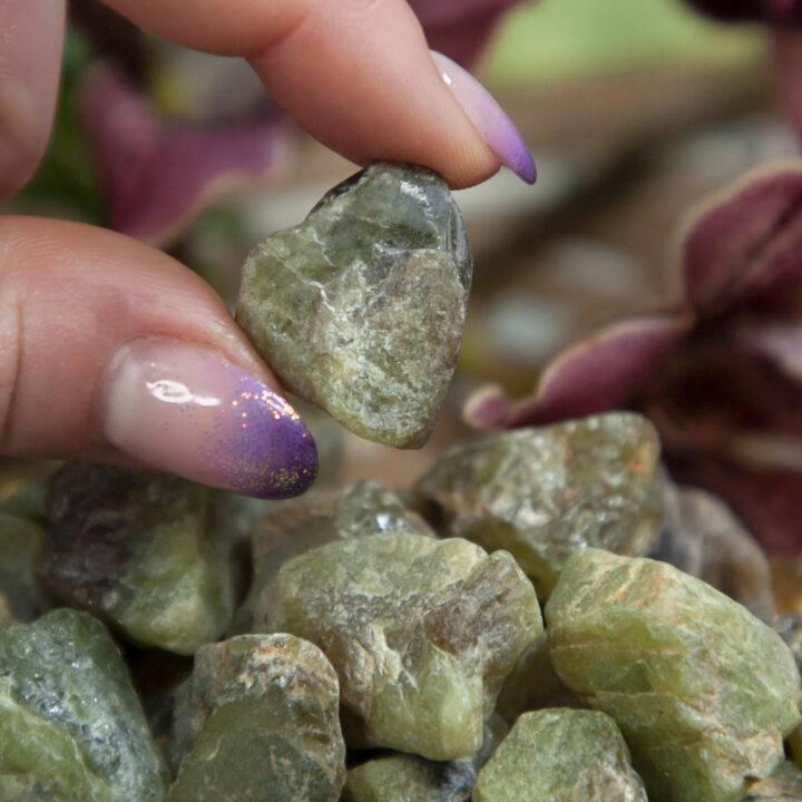 Natural Green Titanite