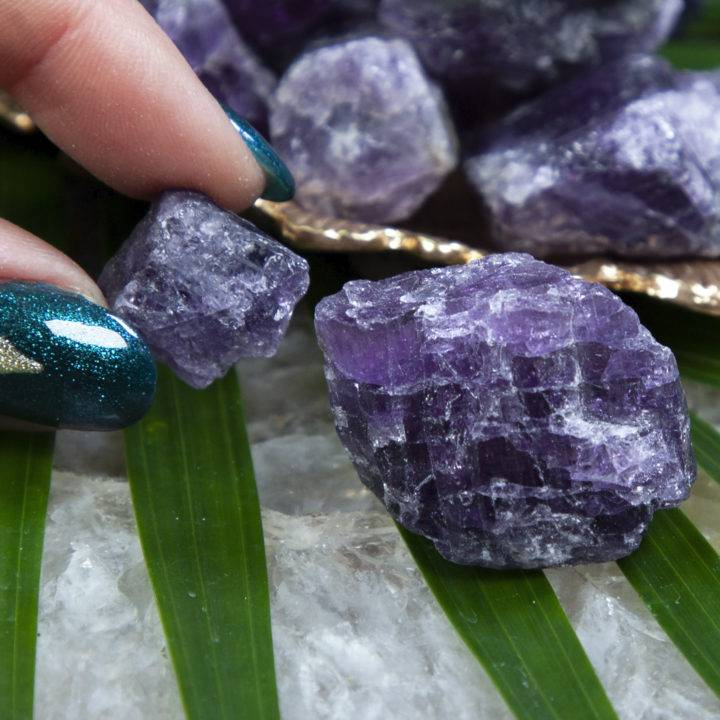 Natural Purple Scapolite